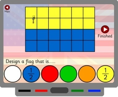 SMART Board Goodies » Interactive Activity To Teach Fractions