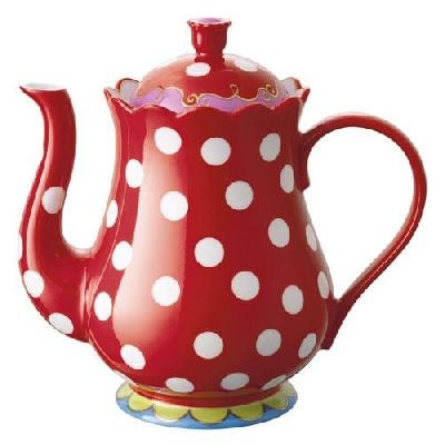 Oilily teapot. Used to have this one, but it broke ... :-(