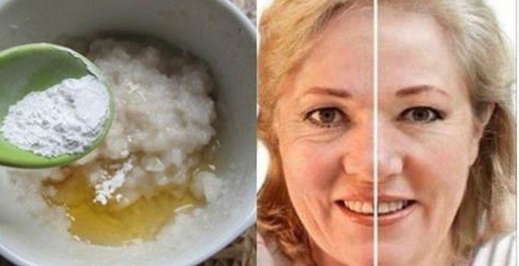 PROMETE QUITARTE HASTA 10 AÑOS DE DAÑOS EN TU PIEL. Leche, Arroz, Miel Cocina 3 cd arroz hasta que se ablande. Una vez que haya terminado de cocinar, colar la mezcla y poner el agua restante en un recipiente limpio. Lavar el arroz cocido con agua y agregar 1 cd de leche tibia y 1 cd de miel y mezclar. Después de que se enfríe un poco, aplicarlo en la cara y el cuello. Deja la crema actuar en la cara por una media hora y luego lavar con el agua de arroz