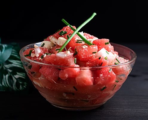 The recipe Nancy Lopez-McHugh serves for you today is a little more grownup than just a slice of watermelon.