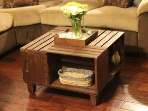 The 25 best Wooden crate coffee table ideas on Pinterest Diy
