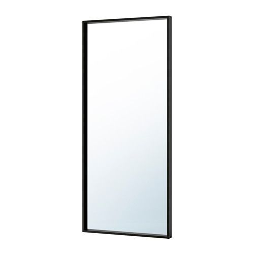 NISSEDAL Mirror IKEA Can be hung horizontally or vertically. Safety film  reduces damage if glass is broken.