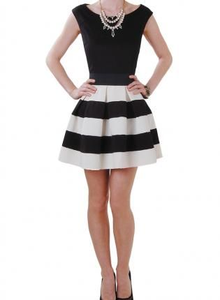 17 best Black White Skirt images on Pinterest