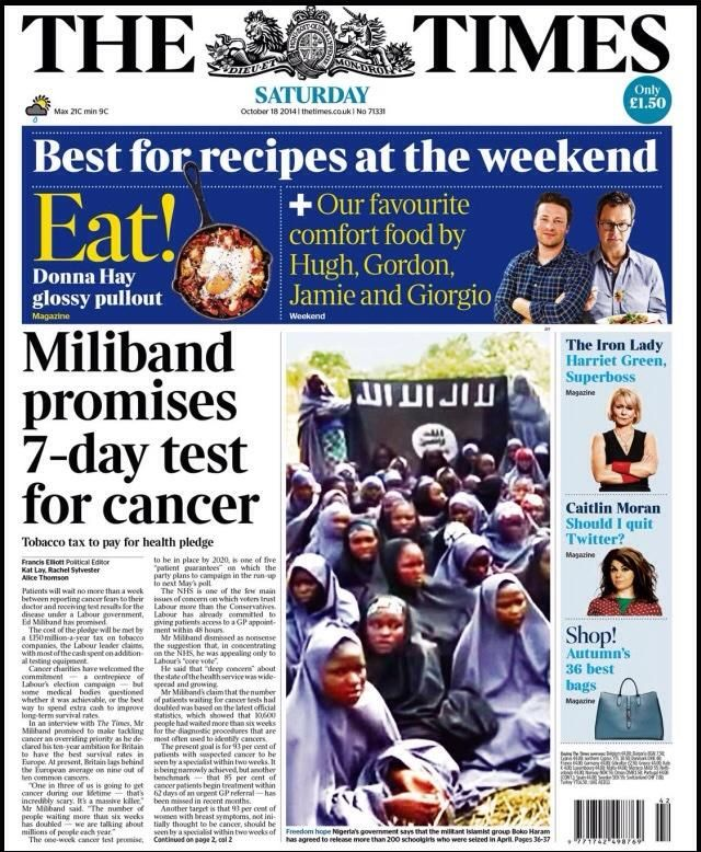 The Times -18.10.14.
