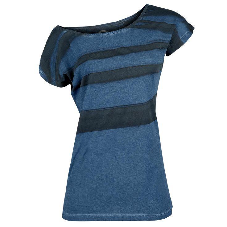 Batik Sprayed Shirt - T-Shirt Manches courtes par R.E.D. by EMP
