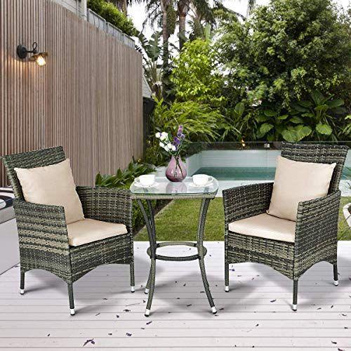Patio Furniture Set Wicker