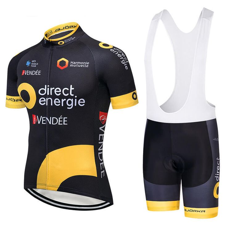 2018 Team Direct Energie Cycling Jersey Freestylecycling Com Cycling Outfit Cycling Team Cycling Jerseys