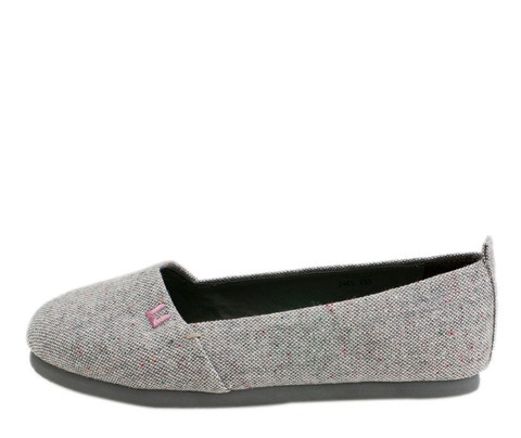 Light Gray Mellows Slip-ons- I am thinking that I need these shoes!