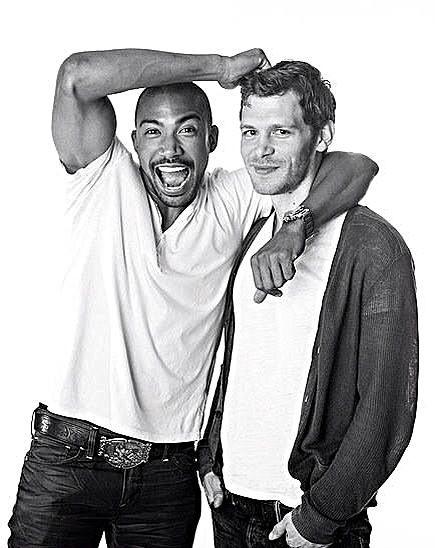 The dynamic duo cast of Charles Michael Davis as Marcel and Joseph Morgan as Klaus killing, swooning, and ruling New Orleans as vampire kings in The Originals!!