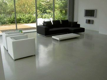 RESIN FLOORING DURHAM POURED RESIN FLOORS - contemporary - Living Room - North East - Paul Butler