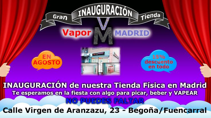 #laSextaPásalo #vape #vapeo #vapear #eCigs #cigarrilloelectronico #cigarrilloselectronicos #vapeando #vapor #vapecommunity #instavape #vaping #vapelyfe #vapesociety #worldwidevapors #vapenation #vapeshop #eliquid  #VapeoHoy