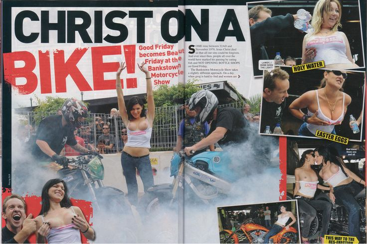 LUCKY and ITZMATTY head to head smoke show at the HARD N FAST Bike show.  PICTURE MAG