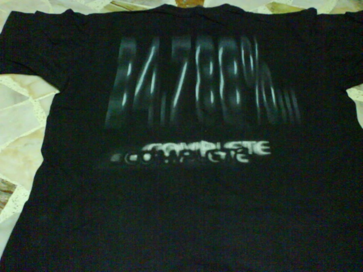 My Dying Bride - 34.788% T-shirt (back) image