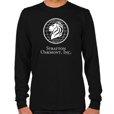 Wolf of Wall Street Stratton Oakmont Long Sleeve Tees | GoldLabel.com | The Wolf of Wall Street Official Shop