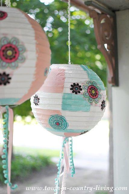 1000 images about paper lanterns on pinterest diy paper - Paper lantern paint color ...