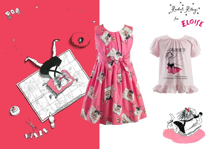 In honor of Eloise's 60th anniversary, children's clothing designer Rachel Riley has created a commemorative collection.