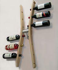 porte bouteilles de vins,support bouteilles,ranges bouteilles,aménagement de cave,accessoires pour le vin,porte bouteilles de table,décanteur,porte bouteilles design,porte bouteille en bois,porte bouteille en douelle de tonneaux,décoration cave à vin