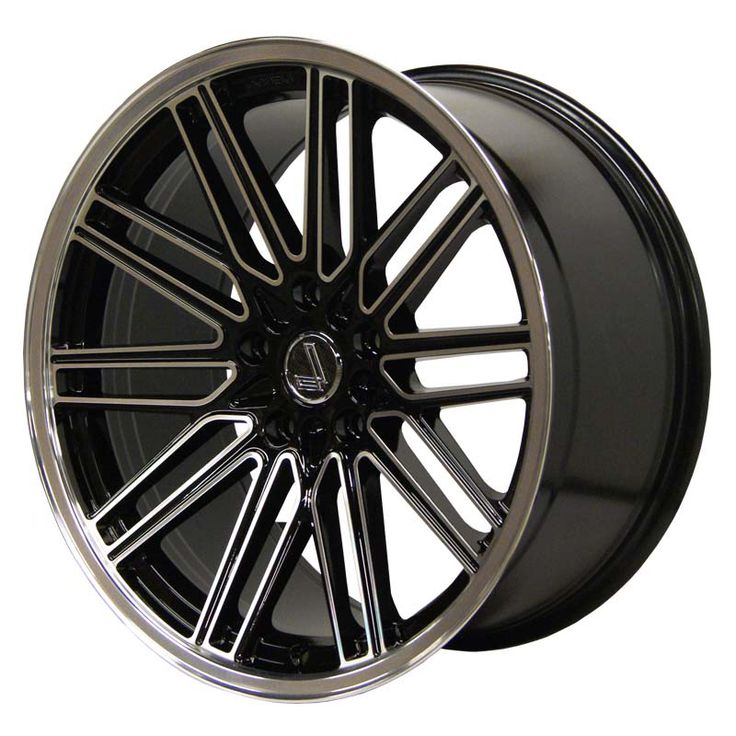 LENSO OP7 GLOSS BLACK POLISHED alloy wheels with stunning look for 5 studd wheels in GLOSS BLACK POLISHED finish with 18 inch rim size