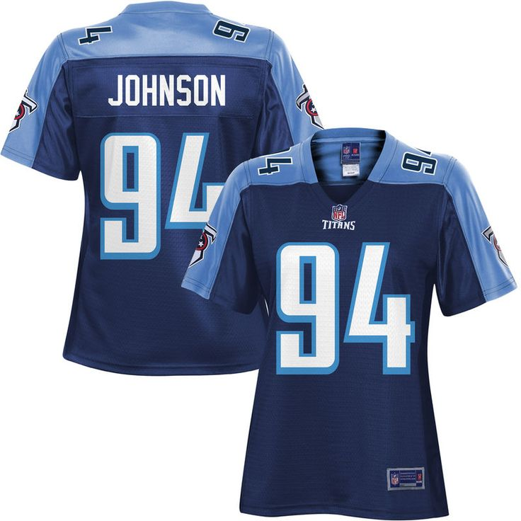 Austin Johnson Tennessee Titans NFL Pro Line Women's Player Jersey - Navy