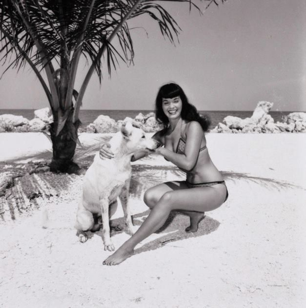 Bettie Page's Dog