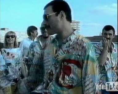 Freddie Mercury, Jim hutton and Mary Austin, 1986 - 383 x 306