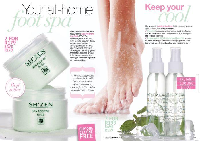 Keep your feet fresh all summer long!