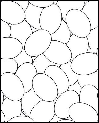 Eggs - can doodle, color, design, etc...