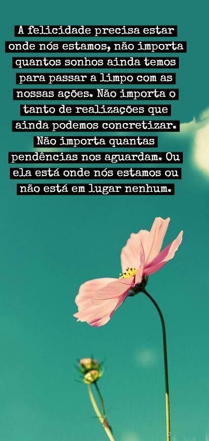 #felicidade #frases #inspiracao
