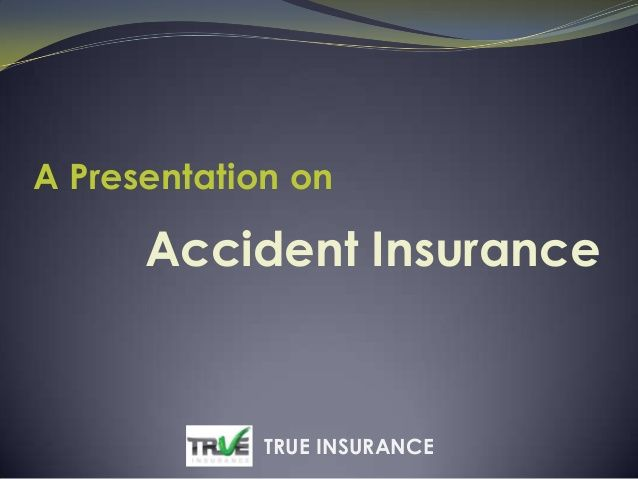 Accidents are very normal these days, It can happen because of your mistake or by others,but you should be prepared to handle for what come afterwards. True Insurance's Accident Insurance gives you cover in those situations. More Details: http://www.trueinsurance.com.au/accident-insurance/