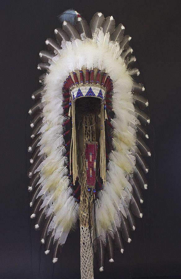 "36"" Victory Headdress by Russ Kruse from Black Arrow Jewelry"