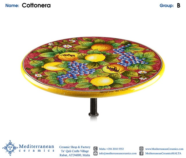 Design: Cottonera (B) Shown in Small Round by Mediterranean Ceramics, via Flickr