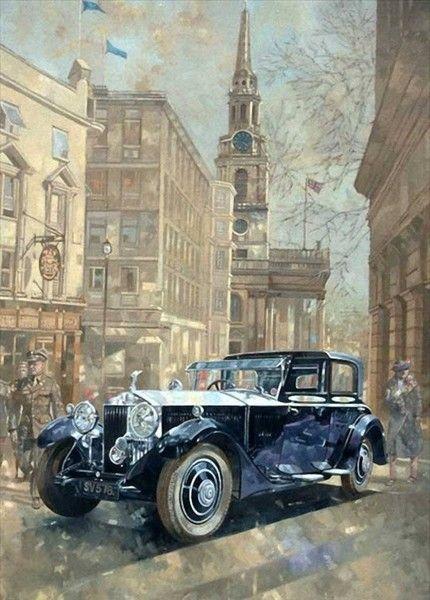 ретро автомобили рисунки - Поиск в Google