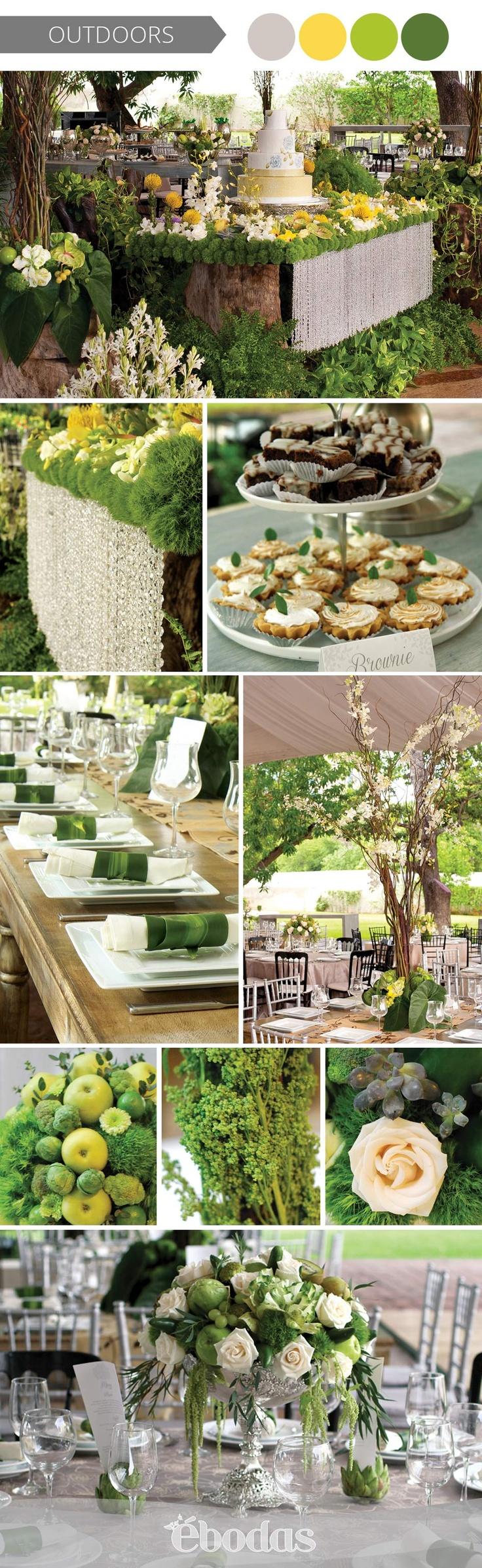 Un estilo orgánico, para una boda tipo green wedding,boda Lina Solís  #WeddingIdeas #ebodas #WeddingMagazine#floraldesign#verde