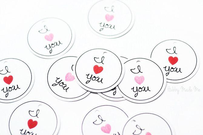 valentine name plates