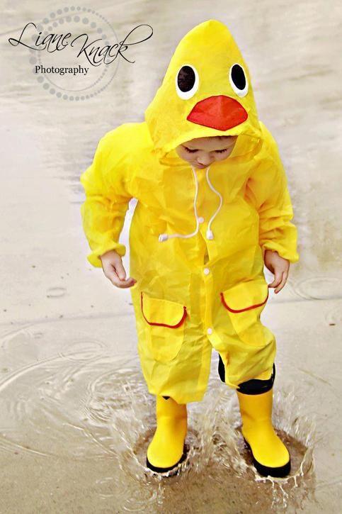 Duck Raincoat From A Pocket Full Of Sunshine 14