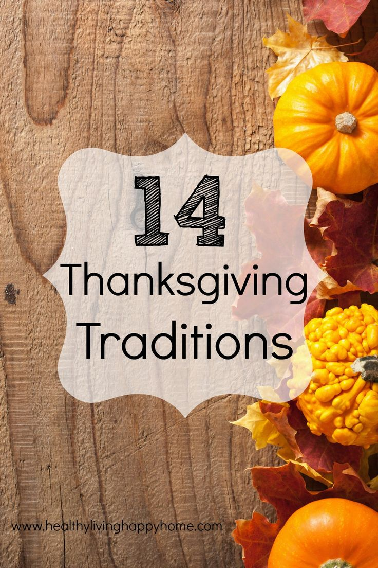 Want to start new traditions and preserve memories? Here are a few Thanksgiving tradition ideas that my family and I have each year.