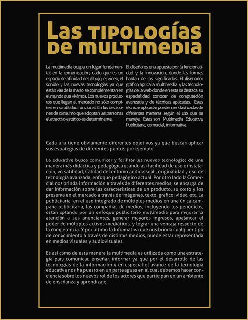 tipologías de multimedia #multimedia #composicion #utadeo_caribe #tadeo_caribe #gale #galeroome