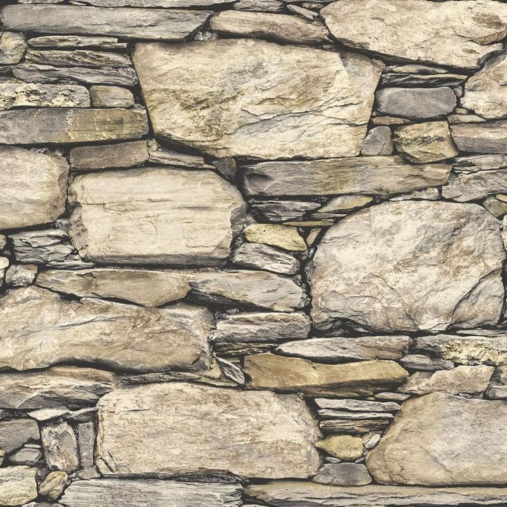 WallPops Hadrian 3D Ledger Stone Wall Peel and Stick