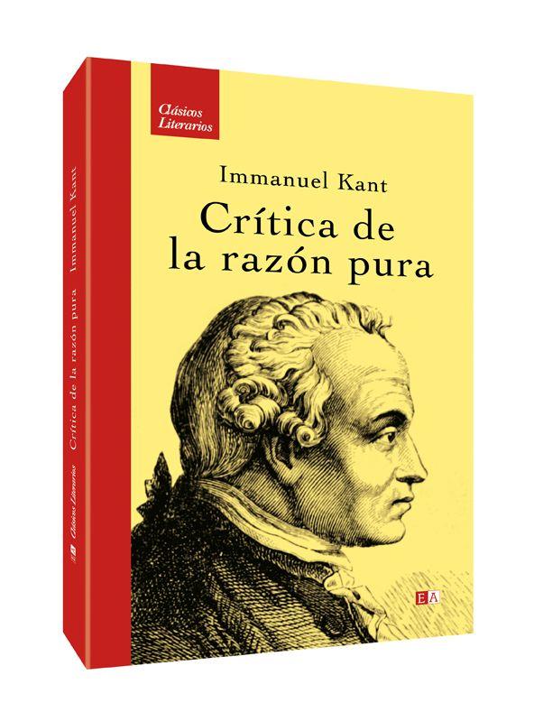 Título: critica de la razón pura - Autor: Immanuel Kant