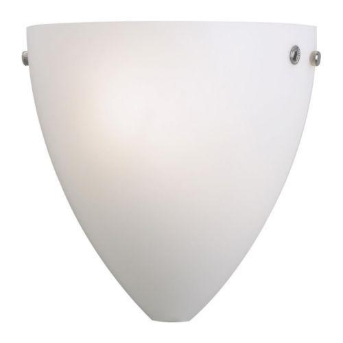 KVINTETT Lámpara de pared, blanco IKEA (€ 24,79 Sin IVA) € 29,99  / ud  Cada pantalla de vidrio soplado es única. - Buena iluminación sin reflejos.
