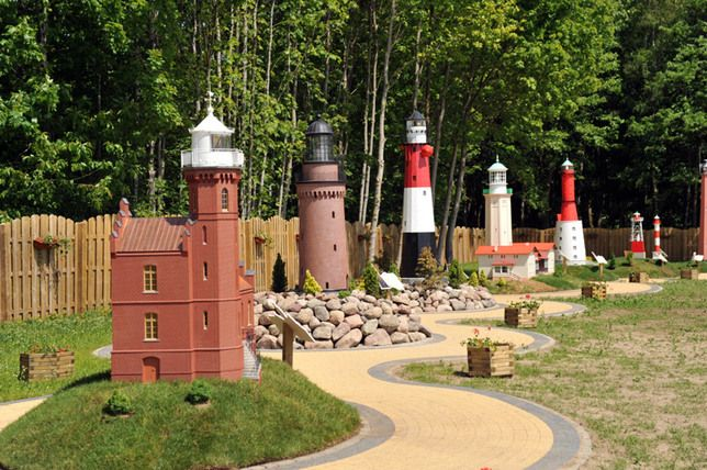 Lighthouses Miniature Park in Niechorze