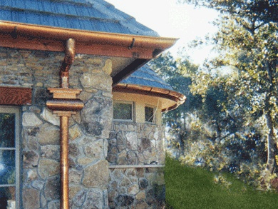1000 Ideas About Copper Gutters On Pinterest Seamless