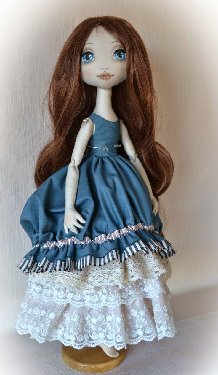 :: Crafty :: Doll :: Soul of a rag doll: Ребекка