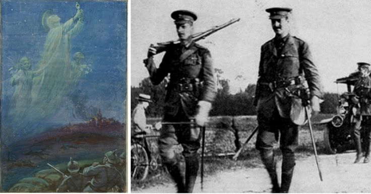 The Angels of Mons – Religion Helped Boost the Morale of British Troops in WWI
