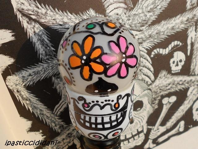 I PASTICCI DI DANI: Halloween – lampadina rotta e teschi messicani