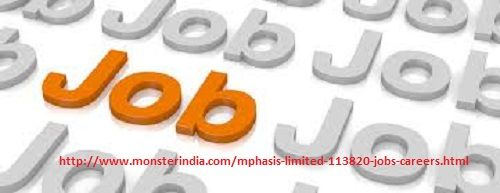 Mphasis Careers is an IT company provides so many job vacancies for both fresher and experienced in Mumbai, Bangaluru, Hyderabad. Apply for a job now and grab the best opportunity.