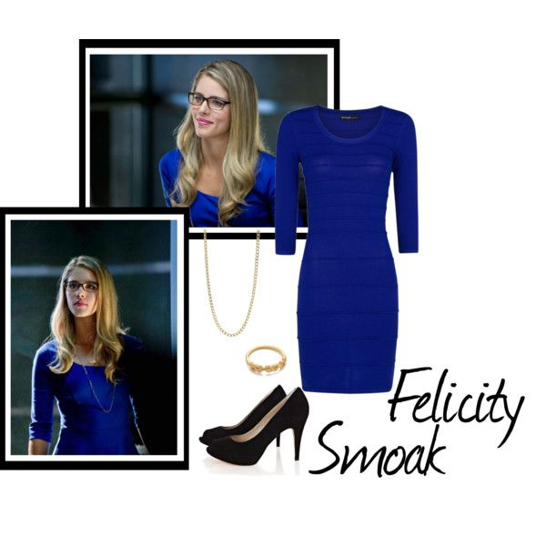 """Felicity Smoak"" by idmiliris on Polyvore"