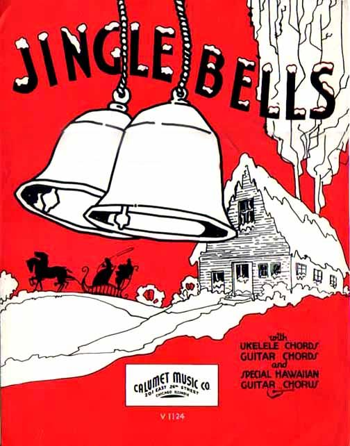 jingle bells vintage sheet music how adorable