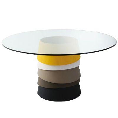 Tavolo Layer di Luca Nichetto per Gallotti e Radice