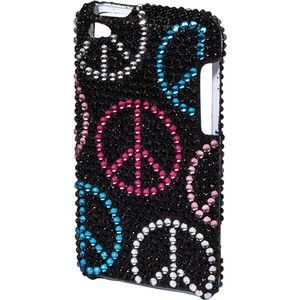 justice ipod cases for girls | cases Peace Bling Ipod Touch 4 Case - Polyvore